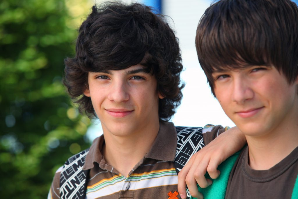 Two Teen Boys